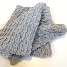 Bufanda circular texturada – num 2-