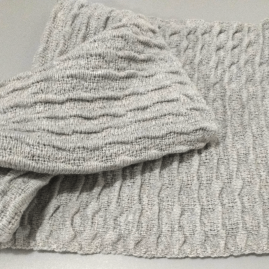 Textured infinity scarf- num 2-