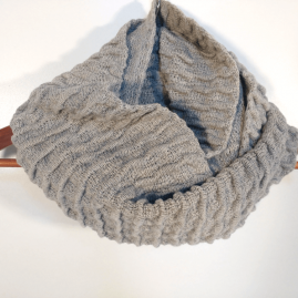 Textured Schlauchschal – num 2-