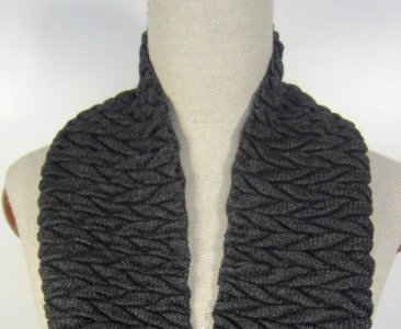 Children cable knit Scarf