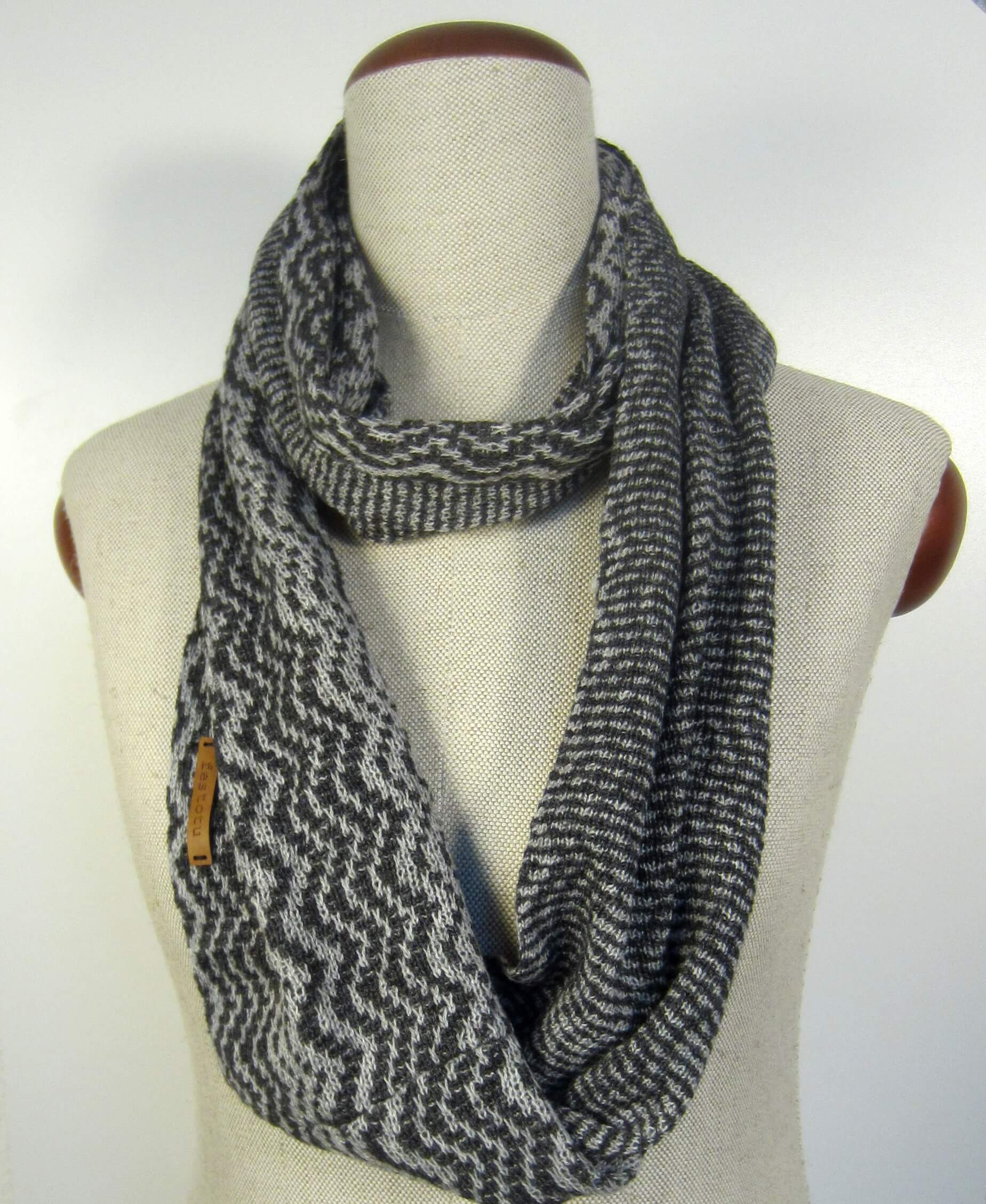 ready il infinity fullxfull large cowl knit idea grey scarf oversized chunky marble extra crochet gift p to ship